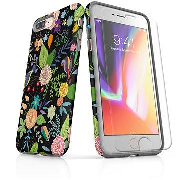 MojePouzdro Tough pro iPhone 8 Plus SLVS0026 Noční zahrada (APP-IPH8PSLVS0026CAT-D)