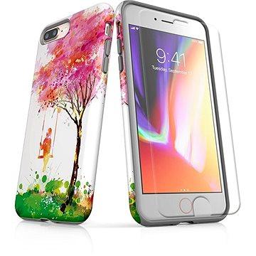 MojePouzdro Tough pro iPhone 8 Plus SLVS0028 Strom štěstí (APP-IPH8PSLVS0028CAT-D)