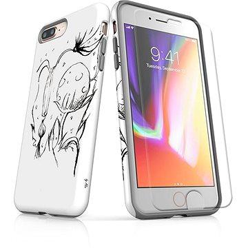 MojePouzdro Tough pro iPhone 8 Plus SLVS0029 Jak život roste (APP-IPH8PSLVS0029CAT-D)