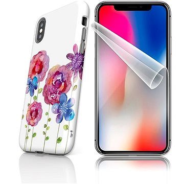 MojePouzdro Tough pro iPhone X SLVS0025 Louka (APP-IPHXSLVS0025CAT-D)