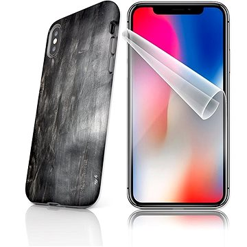 MojePouzdro Tough pro iPhone X SLVS0031 Plášť hvězdy smrti (APP-IPHXSLVS0031CAT-D)
