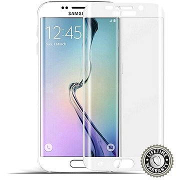 ScreenShield Tempered Glass Samsung Galaxy S6 Edge (G925) Silver (SAM-TGSG925-D)