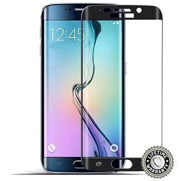 ScreenShield Tempered Glass Samsung Galaxy S6 Edge (G925) Black (SAM-TGBG925-D)