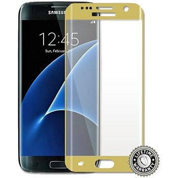 ScreenShield Tempered Glass Samsung Galaxy S7 edge G935 Gold (SAM-TGGG935-D)