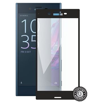 Screenshield SONY Xperia XZ F8331 Tempered Glass protection (full COVER black) na displej (SON-TG3DBXPEXZ-D)