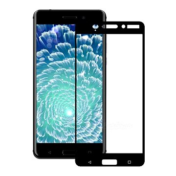 Screenshield NOKIA 3 (2017) Tempered Glass protection (black) na displej (NOK-TG32017-D)