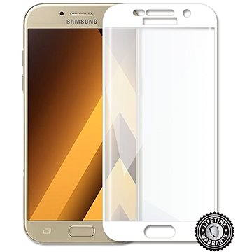 Screenshield Samsung A520 Galaxy A5 (2017) Tempered Glass protection (full COVER WHITE metalic frame (SAM-TGFCWMFA520-D)