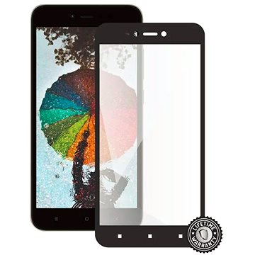 Screenshield XIAOMI RedMi Note 5A Global Tempered Glass protection (full COVER black) (XIA-TG25DREDNO5AG-D)