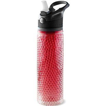 ASOBU chladící láhev na nápoje Deep Freeze červená 600ml