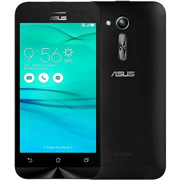 ASUS ZenFone Go ZB452KG 8GB černý (90AX0141-M00450) + ZDARMA Elektronická licence ESET Mobile Security na 6 měsíců (elektronická licence)