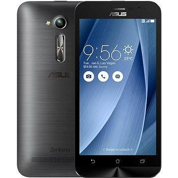 ASUS Zenfone GO ZB500KL šedý (ZB500KL-3H043WW) + ZDARMA Sluchátka ASUS Fonemate bílé - design headset s pouzdrem Pouzdro na mobilní telefon ASUS Bumper Case černý ZB500KL Digitální předplatné Týden - roční