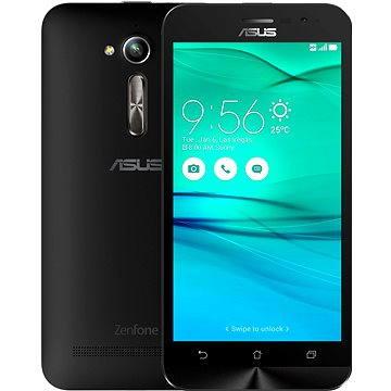 ASUS Zenfone GO ZB500KL černý (ZB500KL-1A040WW / SKASZB500KL-1A040WW) + ZDARMA Sluchátka ASUS Fonemate bílé - design headset s pouzdrem Pouzdro na mobilní telefon ASUS Bumper Case černý ZB500KL Digitální předplatné Týden - roční