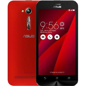 ASUS Zenfone GO ZB500KL červený (ZB500KL-1C042WW) + ZDARMA Pouzdro na mobilní telefon ASUS Bumper Case černý ZB500KL Digitální předplatné Týden - roční