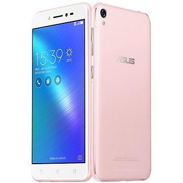 ASUS Zenfone Live Rose Pink (ZB501KL-4I013A) + ZDARMA Sluchátka ASUS Fonemate bílé - design headset s pouzdrem Digitální předplatné Týden - roční Power Bank ASUS ZenPower 10050 mAh stříbrná