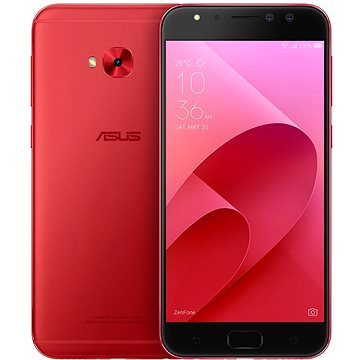 Asus Zenfone 4 Selfie Pro ZD552KL Metal/Red (90AZ01M9-M00420) + ZDARMA Power Bank ASUS ZenPower 4000 mAh černá Digitální předplatné Interview - SK - Roční od ALZY