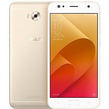 Asus Zenfone 4 Selfie Pro ZD552KL Metal/Gold (90AZ01M4-M00430) + ZDARMA Bezpečnostní software Kaspersky Internet Security pro Android pro 1 mobil nebo tablet na 6 měsíců (elektronická licence) Digitální předplatné Interview - SK - Roční od ALZY