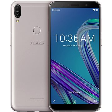 Asus Zenfone Max Pro ZB602KL stříbrná (ZB602KL-4H084EU)