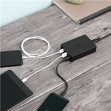 Aukey Quick Charge 3.0 6-Port Wall Charger (PA-T11)