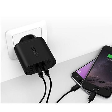 Aukey Quick Charge 3.0 2x USB (PA-T16)