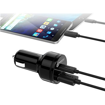 Aukey Quick Charge 3.0 2-Port Car Charger (CC-Y1)