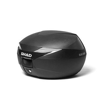 SHAD Vrchní kufr na motorku SH39 karbon (130.D0B39106)