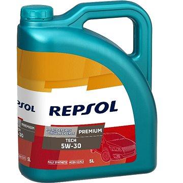 Repsol Premium TECH 5W-30 5 l (AKCE 4 l+1 l ZDARMA) (RP081L55)