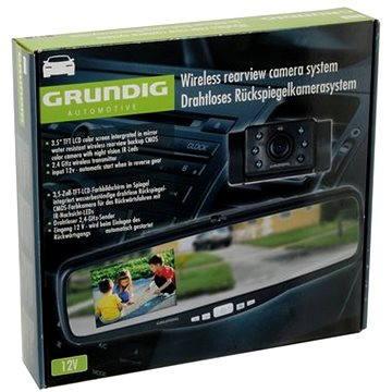 GRUNDIG 00261 Bezdrátový couvací kamerový systém s 3.5 displejem (GRU-00261)
