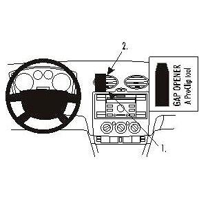 Brodit ProClip montážní konzole pro Ford Focus 05-10 (853584)