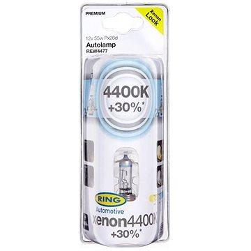 RING XENON4400K H7 2ks + žárovky pro obrysová světla 2ks (REW4477V)