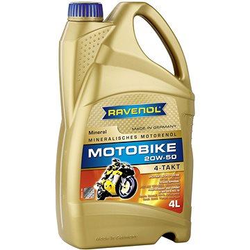 RAVENOL Motobike 4-T Mineral 20W-50; 4 L (1173122-004-01-999)