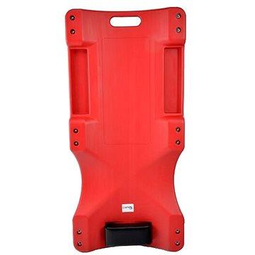 GEKO Plastové lehátko, 110x46,7x13cm, 6 kol (G02096)