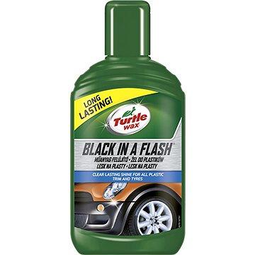 Turte Wax GL Black in a Flash - lesk pro exter. plasty 300ml (TW-7782)