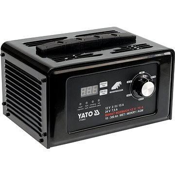 Yato Nabíječka digitální s jump starterem 15A (YT-83051)
