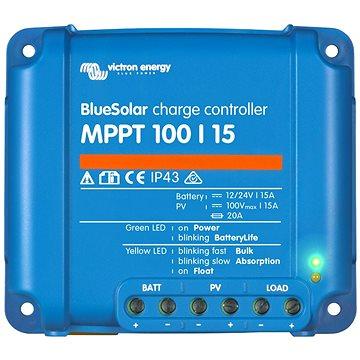 Victron MPPT regulátor BlueSolar 100/15 (SCC010015200R)