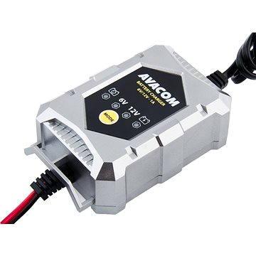 AVACOM Automatická nabíječka 6V / 12V 1A pro olověné AGM/GEL akumulátory (1,2-24 Ah) (NAPB-A010-612)