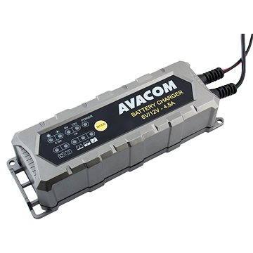 AVACOM Automatická nabíječka 6V / 12V 4,5A pro olověné AGM/GEL akumulátory (1,2-120Ah) (NAPB-A045-612)