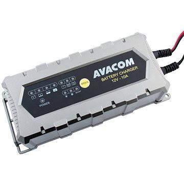 AVACOM Automatická nabíječka 12V 10A pro olověné AGM/GEL akumulátory (20-200Ah) (NAPB-A100-012)