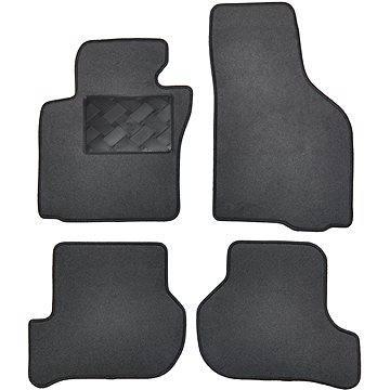 Velcar textilní autokoberce pro Škoda Roomster (2006-) (VELGUM/0014/FIX)