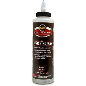 MEGUIAR'S DA Microfiber Finishing Wax, 473 ml (D30116)
