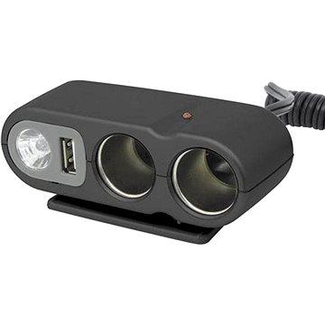 CARPOINT 12V - s USB výstupem / kabelem (0523434)