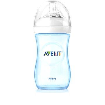 Philips AVENT kojenecká láhev Natural, 260 ml - modrá (624486)