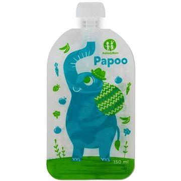 Petite&Mars kapsička na jídlo Papoo - 6× 150 ml (8595640901807)
