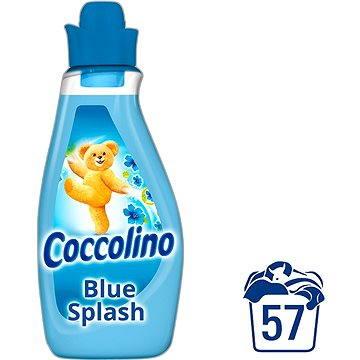 Coccolino blue splash aviváž 2 l + ZDARMA Prací gel SURF Color Tropical Lily & Ylang Ylang (1 praní)