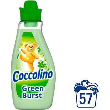 Coccolino Green Burst 2 l + ZDARMA Prací gel SURF Color Tropical Lily & Ylang Ylang (1 praní)