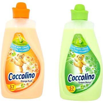 Sada drogerie Coccolino Green Burst 2L + Orange Rush 2L (Coccolingo Gr+Or)