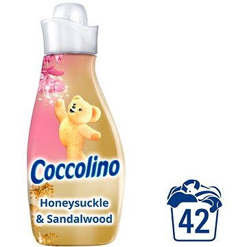 Aviváž COCCOLINO Creations Honeysuckle & Sandalwood 1,5 l (42 praní) (8710908162633) + ZDARMA Prací gel SURF Color Tropical Lily & Ylang Ylang (1 praní)