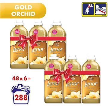LENOR Gold Orchid 6× 1,42 l (282 praní) (258001090200136)