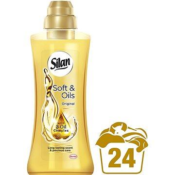 Aviváž SILAN Soft & Oils Gold 600 ml (24 praní) (9000101094558) + ZDARMA Prací gel PERSIL Sensitive Gel (1 praní)