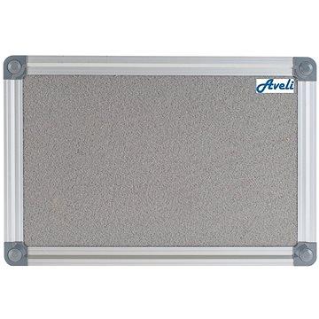 AVELI 90x120cm šedá, hliníkový rám (XRT-00148)