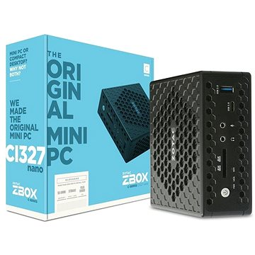 ZOTAC ZBOX CI327 Nano Windows (ZBOX-CI327NANO-BE-W3B)